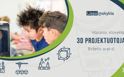 Birželio 22 d. 3D projektuotojai (3-5 kl.)