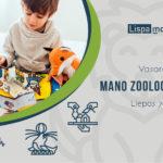 Liepos 7 d. Mano zoologijos sodas (1-2 kl.)